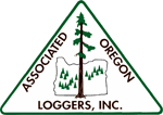 Associated Oregon Loggers Logo
